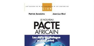 Livre le nouveau pacte africain, éditions Michel Lafon avec le CIAN