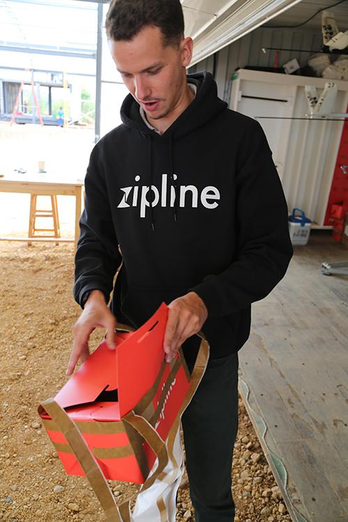 Arthur Draber dirige les nouveaux déploiements de Zipline