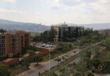 Kigali, novembre 2017, une ville qui impressionne : masterplan, connectivité, propreté, sécurité... photo Thierry Barbaut