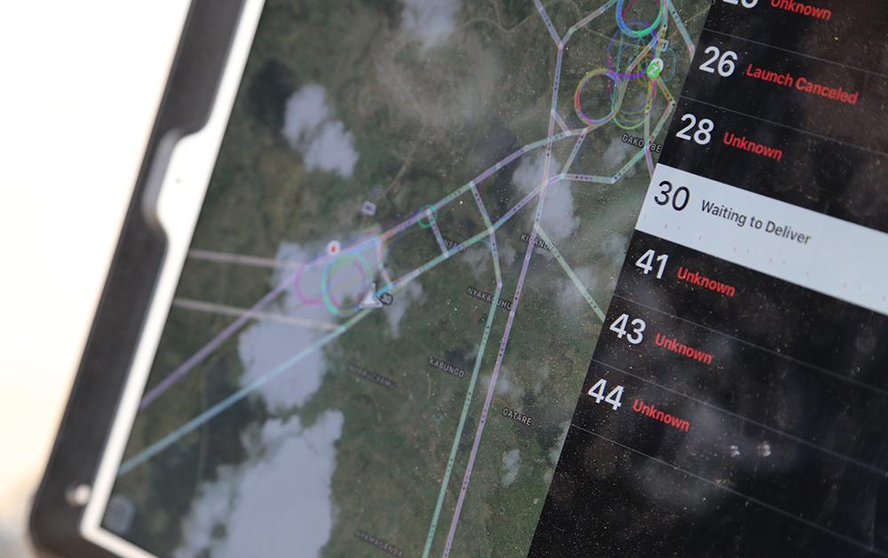 Les vols sont suivis en directe grâce aux différents systèmes
