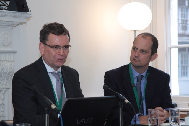 Thomas Duve, Director Southern Africa and Regional Funds KfW Development Bank - and John Lentaigne, Chief Underwriting Officer, ATI