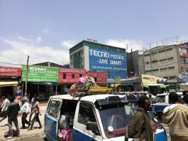 Techno à Addis Abeba