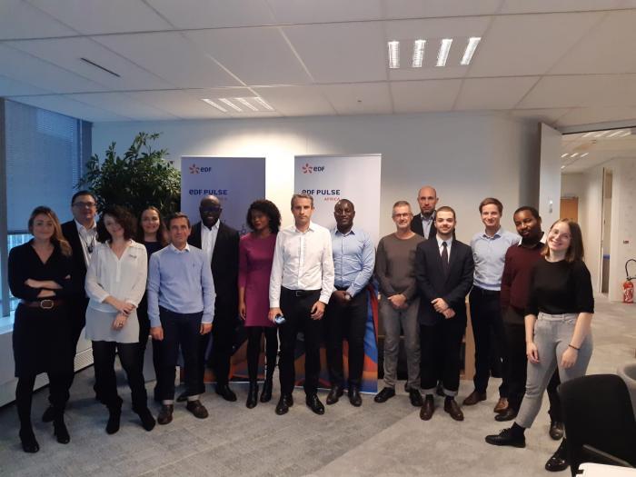 EDF Pulse Africa 2019 - l'équipe EDF Pulse Africa et les experts thématiques