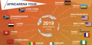 Africarena tour 2019