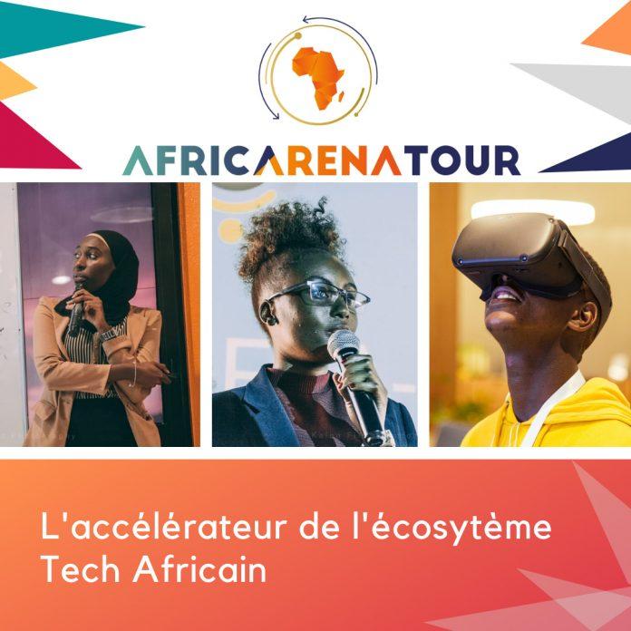 AfricArena tour 2020 - accélérateur de l'écosystème Tech Africain