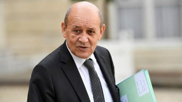 Jean-Yves Le Drian - Ministre de l'Europe et des Affaires étrangères de la France
