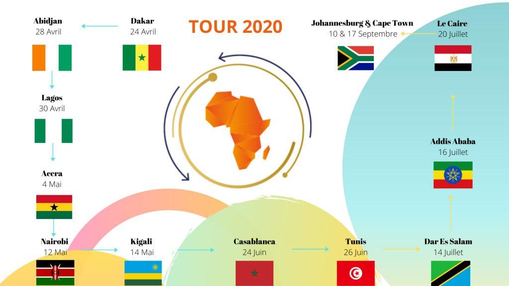 AfricArena tour le programme