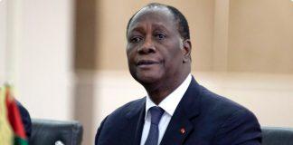 Alassane Ouattara président de la Côte D'Ivoire