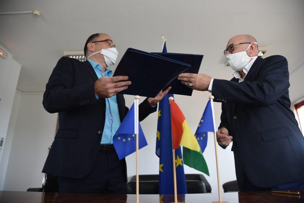 Union Européenne Guinée Coronavirus COVID-19