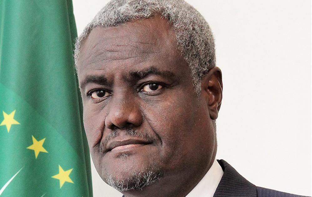 Le Président de la Commission de l'Union africaine, Moussa Faki Mahamat, condamne fermement le meurtre de George Floyd
