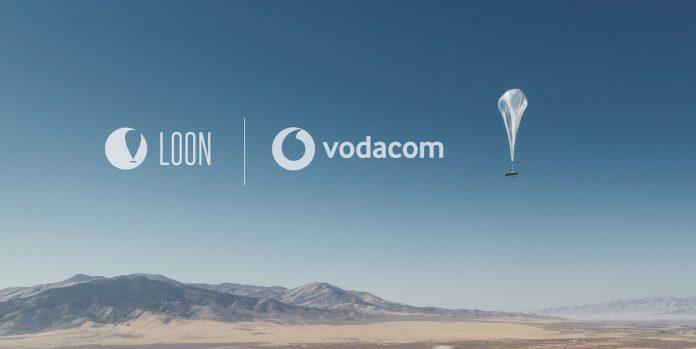 Les ballons Loon de ALphabet avec Vodacom