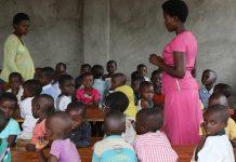 L'éducation dans une école du Burundi en Afrique centrale