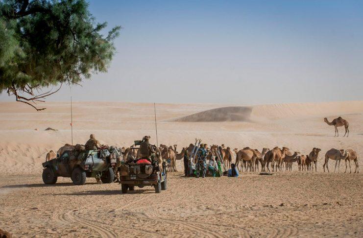 Opération Barkhane Sahel