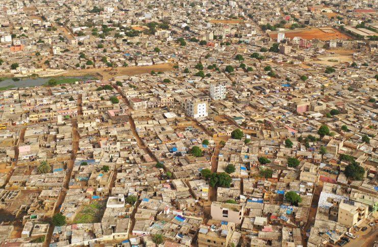 La ville de Dakar en Afrique de l'Ouest - Copyright Thierry Barbaut