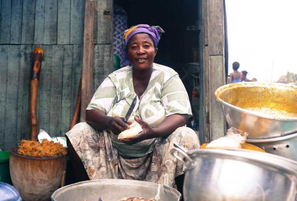 Cuisinière de rue Toto RIIBO