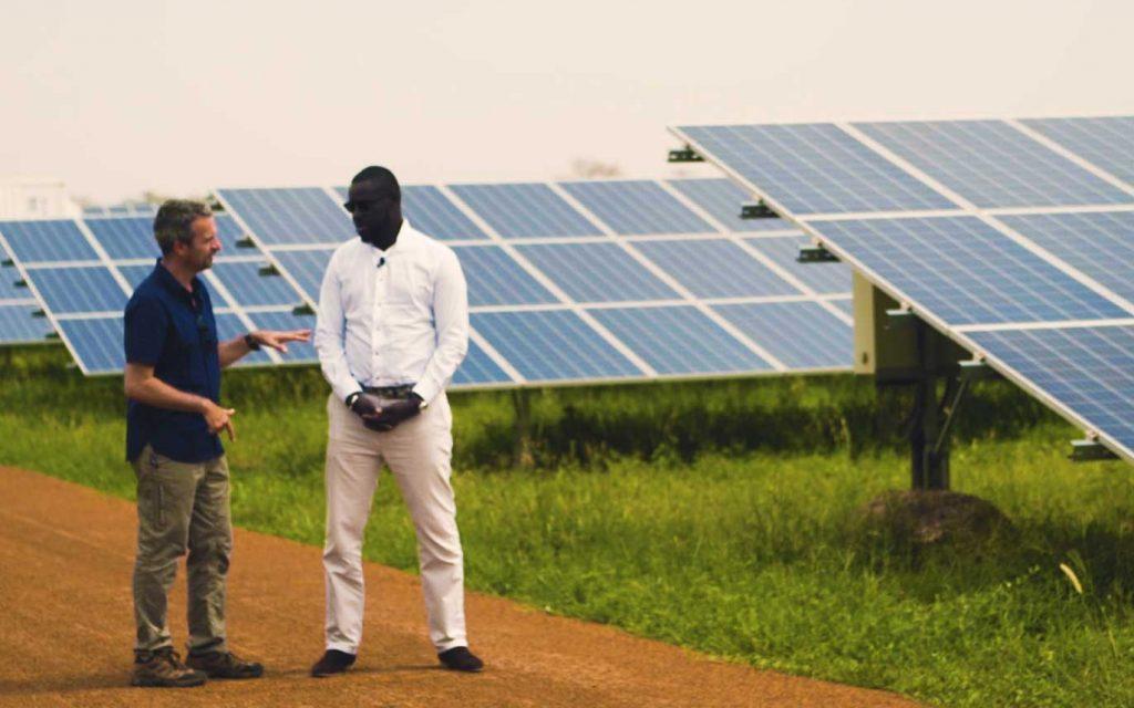 La centrale solaire de Ten Merina au Sénégal - Thierry Barbaut