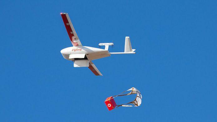 AstraZeneca drone Zipline Ghana Afrique