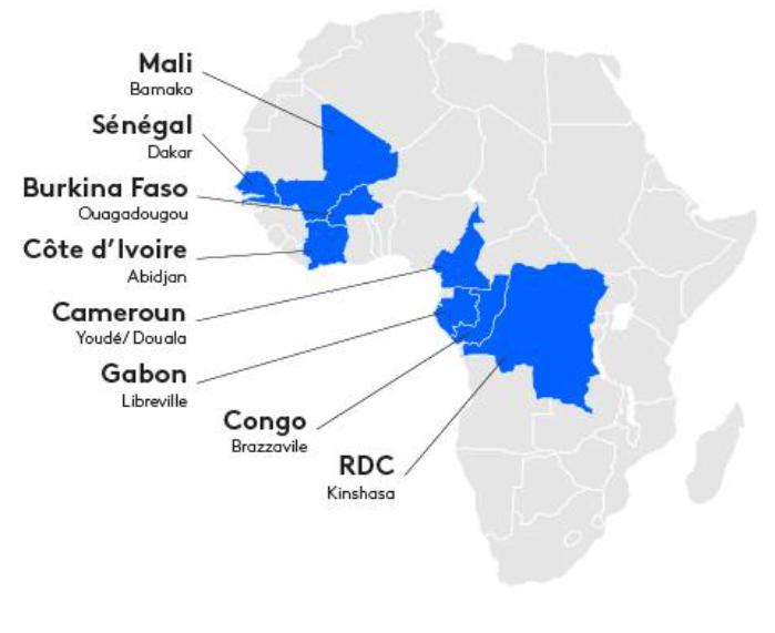 Kantar Africascope pays 2021