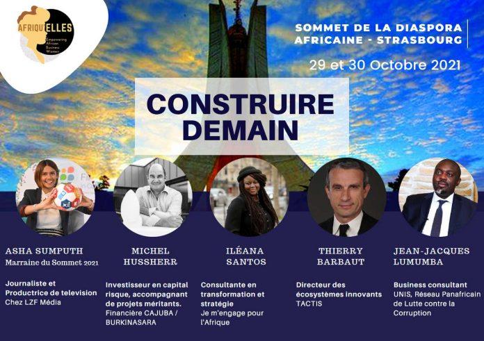 Construire demain - Sommet diaspora africaine de Strasbourg